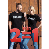 Xmas-Aktion 2for1 - T-Shirts ROCK CHEF®-STAGE2
