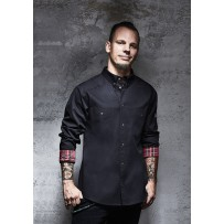 Kochhemd Button-Down ROCK CHEF®-STAGE2 (inkl. Namensstick !!!)